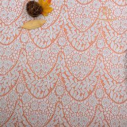 Tessuto del merletto del jacquard del nylon 10% di 90% poli
