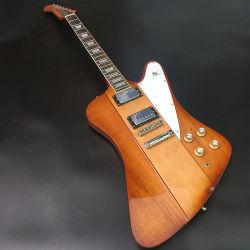 Qualidade elevada Thunderbird guitarra eléctrica com Rosewood Fingerboard & Corpo de mogno, Pickguard Branco, grossista, muito bonito!