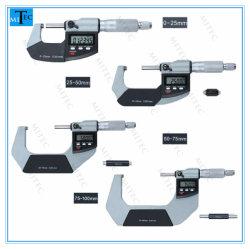 Meetinstrument Elektronisch digitaal meetinstrument voor buitenmicrometer 0-25 mm