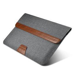カスタム防水タブレット9-11inchの袖のコンピュータの箱袋PUの革ラップトップの袖