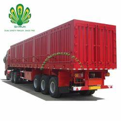 밴 유형 반 상자 화물 수송기 트럭 트레일러
