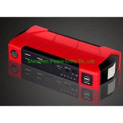 Batterie-Sprung-Starter mit Kompaß, Entweichen-Hammer, Ausschnitt-Messer und 3 LED-Taschenlampen