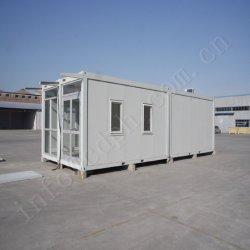 Líder en China 20 pies de un paquete plano Casa contenedor prefabricado Proveedor