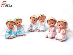 Decoración de Navidad Polyresin bebés estatua