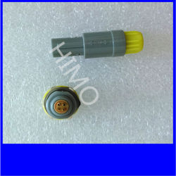 Conetor plástico médico de Pagpkg 2pin Lemo