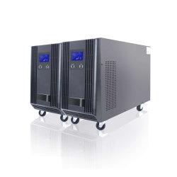 Bureau de la Banque de l'hôpital utilisée en ligne d'onde sinusoïdale 10kVA ups de haute fréquence avec les principaux de la technologie de contrôle DSP
