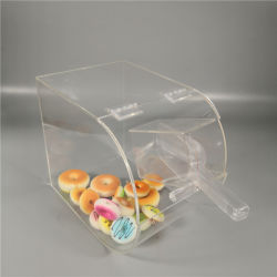 La pantalla de caramelos de acrílico transparente PMMA Gabinete casos
