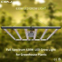 LED de alta eficacia de la planta crecer la Luz (630W 2.7UMOL/J)) para sustituir el Fluence Spydr.