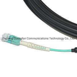 Aus optischen Fasern Faser-Optiksteckschnür-Kabel Nsn-LC Uniboot mit flexiblem Aufladungs-Verbinder