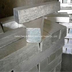 亜鉛インゴット工場販売亜鉛インゴット99.99%純粋な亜鉛インゴット