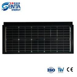 Различные конструкции китайский солнечная панель крыши плитка 55Вт для жилых Солнечной системы