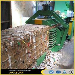 De automatische Machine van de Pers, de Auto Horizontale Hooipers van de Band voor Occ, Huisvuil, Papierafval, Karton, Stro, Plastiek, de Aandrijving van /Horizontal/Hydraulic van het Huisdier/Recycling