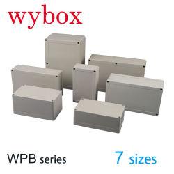60가지 크기의 IP65 ABS 플라스틱 방수 인클로저 박스 실외 내후성 전기 방수 전기 인클로저 박스