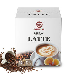 Ganoderma Lingzhi Latte 3 en 1 Mix poudre de café instantané