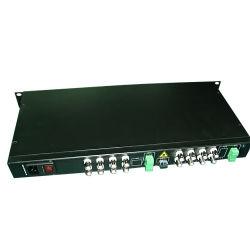 Un video delle 16 Manica/audio/dati/telefono/ricevente del trasmettitore ottico fibra di Ethernet (GY-16V-TL)