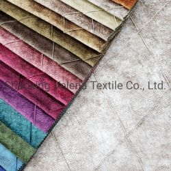 Prodotti in vendita a caldo Stampa in velluto con trapuntatura / tessuto a croce Tessuti rivestimento tessuto divano e tenda