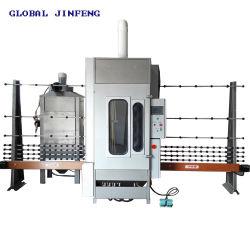 セリウムの修飾(JFP2500)のCNCの自動永続的な縦のガラスサンドブラスティングかSandblaster機械