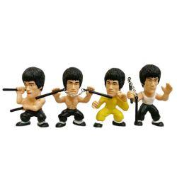 La estrella más popular de Kungfu Bruce Lee figura de acción coche Decoración de la Mesa en miniatura del modelo de las figuras de acción Anime Regalo Coleccionables