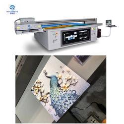 3Dは紫外線デジタル印字機の広いフォーマットPUの革紫外線平面インクジェット・プリンタ2513 GEN 5プリントニスを浮彫りにした
