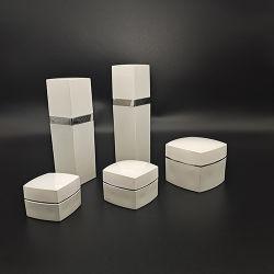 Luxus Quadrat Acryl Plastikflasche Kosmetische Verpackung