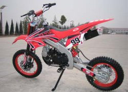 125cc Loncin 엔진, Mikuni 기화기 (CB05)를 가진 교차하는 자전거