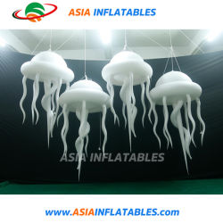 La iluminación LED inflables gigantes medusas de Telford desfile de gigantes