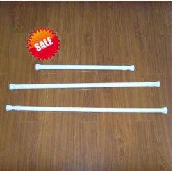 Os cabos telescópicos de alumínio a cortina do chuveiro haste (HM8003)