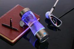 Gesundheit Erhaltung Cup - Wasserstoff-Wasserflasche, Tragbare Reiche Wasserstoff-Cup Hohe Konzentration Negative Ionen Glas Gesundheit