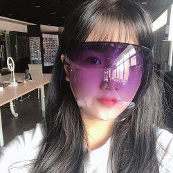 Super Hot coloridas gafas de protección Protección Solar protector facial Antifoggy, impermeable, gafas de sol Gafas de seguridad