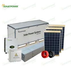 Sistema di alimentazione solare on-Grid da 15 kw ad alta potenza con controller MPPT Uso del tetto del pannello solare Jinko