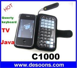 De Chinese Telefoon van TV Java van Onki C1000 Qwerty Keboard