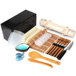 Завод DIY Sushi Maker Equipment 20 в 1 нож для сыбков Bamboo Mats Sushi Set Tools Rice Mold Sushi Making Set