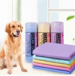 Super absorvente de água o PVA camurça toalha Pet