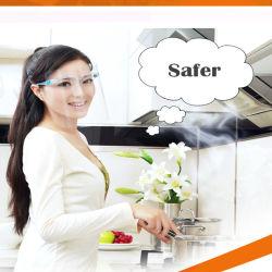 도매 페이스 실드 글라스 양면 안개 방지 투명 페이스 실드 덮개