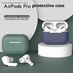 Neuer Silikon-Deckel-Fall für Airpods PROBluetooth Fall für PROzubehör des kopfhörer-Airpod3