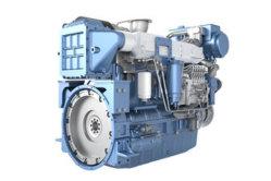 6 أسطوانات ذات سعر مناسب محرك الديزل الصغير المدمج، محرك الديزل البحري Weichai
