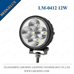 """Открытый автомобильный светодиодный фонарь рабочего освещения 12Вт 3.2"""" Bridgelux погрузчика на лодке"""