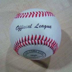 Бейсбол крышки PU высокого качества (B06111)