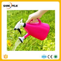 1000ml pot de plastique de têtes sprinkleur double usage manuel bouteille bouilloire pour le jardin d'arrosage de buse usine de l'outil de l'irrigation de plein air