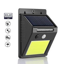 LED 태양광 라이트 실외 동력 방수 COB 솔라 벽 램프