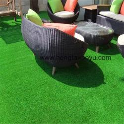 Decorazioni artificiali del coperchio della parete della stuoia del pavimento dell'erba di moquette dell'erba