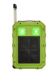 12V/4.5A 10pouces de haut-parleur Bluetooth 50W Puissance RMS, trolley Le président Box
