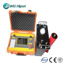 شاشة اللمس المحمولة العرض × العمق جهاز اختبار VLF عالي الدقة منخفض جدًا مجموعة اختبار مولّد التردد Hipot DC Hipot