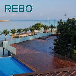 Bambus kundenspezifische Plattform-hölzerne Fußboden-Vorstände im Freien