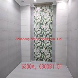 400 * 800mmmicro 미러 광택 골드 브릭 잉크젯 모든 세라믹 벽 타일
