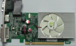 1GB DDR3 Pei-X16 VGA-Karte mit VGA+DVI +HDMI (GT210)