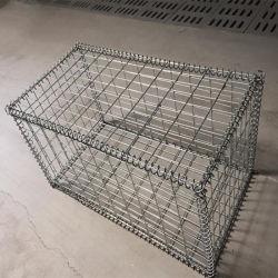 Superqualität galvanisierte geschweißtes Gabion Kasten-heißes Verkauf Gabion Korb-Ineinander greifen/Steinwand Gabion Zaun