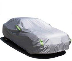 Cubierta de automóvil universales de prevención de hielo de poliéster a prueba de rayos UV Coche Rain Cover