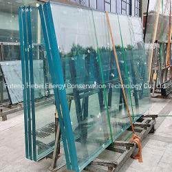 Fábrica de vidrio laminado endurecido 5+5mm Paneles de pared para pared de cortina Vidrio