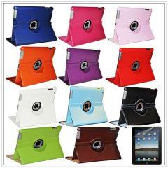 Magnético giratorio 360 Funda de cuero Smart Cover soporte para iPad 2
